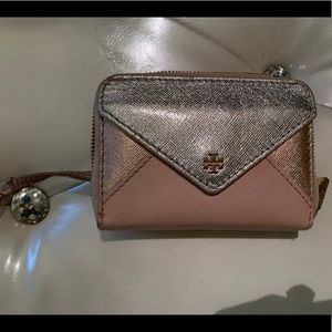 Tory Burch keychain wallet / coin purse